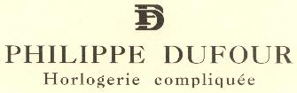часы Philippe Dufour