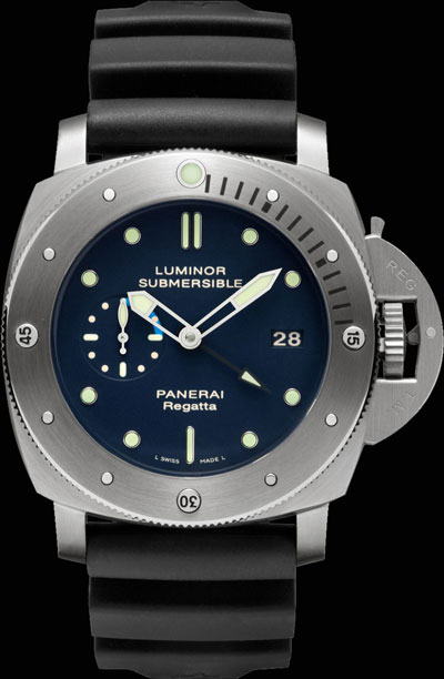 Panerai Luminor Submersible 1950 Regatta 3 days GMT Automatic Titanio