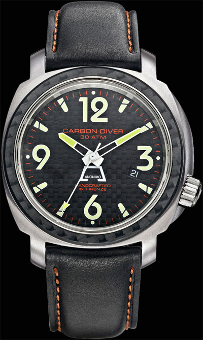 Anonimo Firenze Basic Line Carbon Diver
