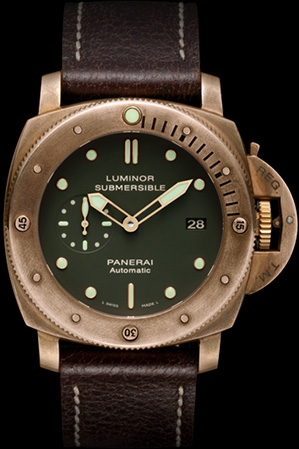 Panerai Submersible Luminor 1950 3 Days Bronze