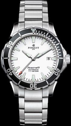 Perrelet Seacraft Diver 3-Hands Date