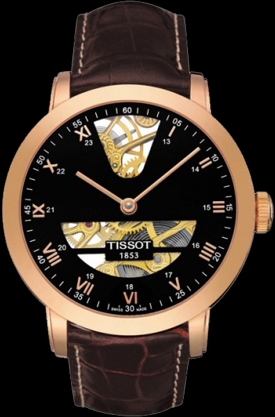Tissot T-gold Sculpture Line Skeleton