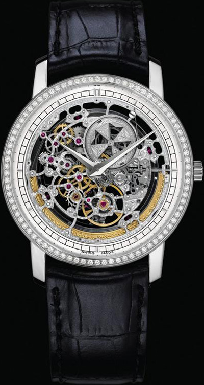 Vacheron Constantin Patrimony Traditionnelle Openworked Large Size