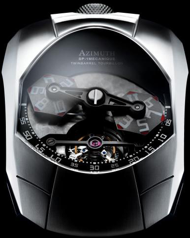 Azimuth SP-1 Twin Barrel Tourbillon