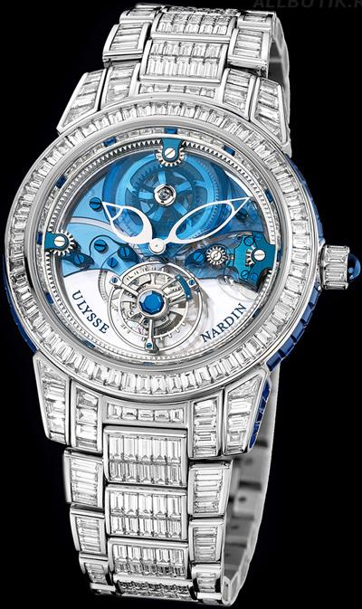 Ulysse Nardin Royal Blue Tourbillion Haute Joaillerie