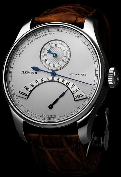 Azimuth Round Regulateur Retrograde Minutes