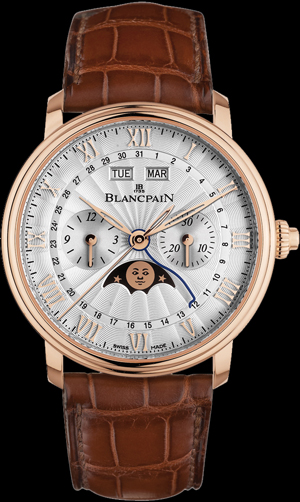 Blancpain Villeret Chronographe Monopoussoir Quantieme Complet