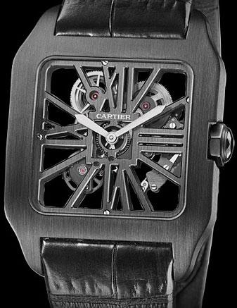Cartier Santos Dumont Black Titanium