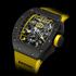 Новые наручные часы Richard Mille RM 011 Felipe Massa Flyback Chronograph CARBON в честь возвращения Формулы-1 в США