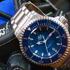 Американская часовая компания RGM представляет новые наручные часы Series 2 Blue Diver