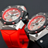 Красная новинка Oktopus II Double Date Titanium Red от Linde Werdelin