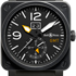 ������� BR 03-51 GMT Carbon �� Bell & Ross