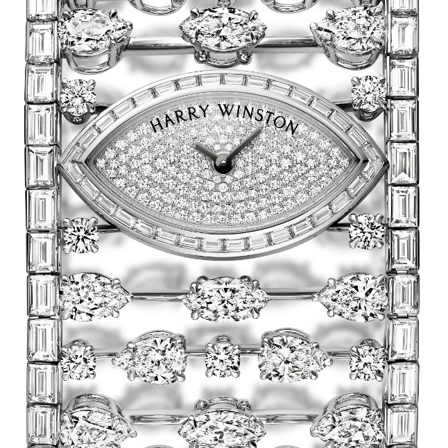 Mrs. Winston High Jewelry Timepiece �� Harry Winston