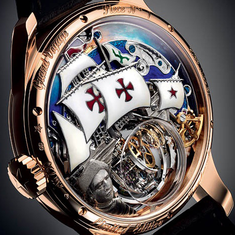 ������� Christophe Colombe Hurricane Grand Voyage �� Zenith, ����������� ���������� �������