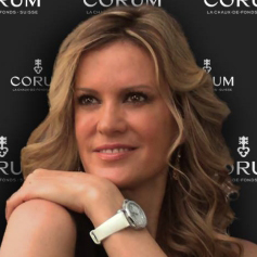Ребекка де Альба – новое лицо компании Corum