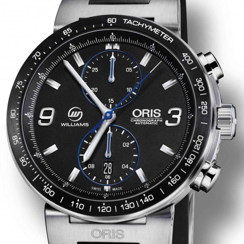 Oris анонсирует выпуск новинки WilliamsF1 Team 600th Race Limited Edition
