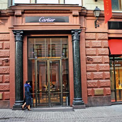 Новый бутик Cartier в Москве