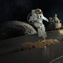 Оригинальный рекламный ролик часов Seamaster Planet Ocean Chrono от Omega