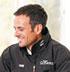Французский шкипер Франк Каммас «протестирует» модель Diverscope от компании JeanRichard во время гонки Volvo Ocean Race