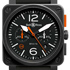 BaselWorld 2014: BR 03-4 Carbon Orange Limited Edition от Bell & Ross