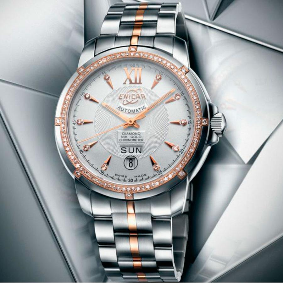 BaselWorld 2014: Enicar представляет новинку Versailles Chronometer Sun
