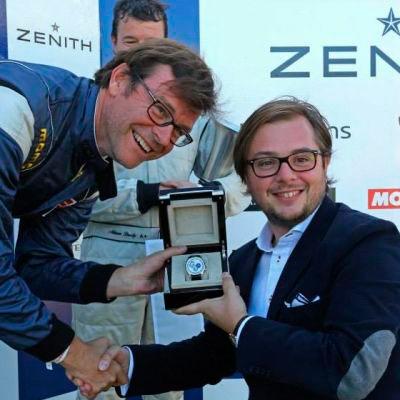 Zenith является хронометристом гонок Spa Classic