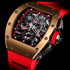 RM 011 Red Demon Flyback Chronograph от Richard Mille