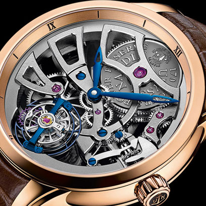 Ulysse Nardin ������������ ����������������� ������ Skeleton Tourbillon Manufacture