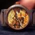 Валерий Даневич представляет свои деревянные часы