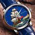 Новые часы Ulysse Nardin Cloisonné посвященные боевому кораблю