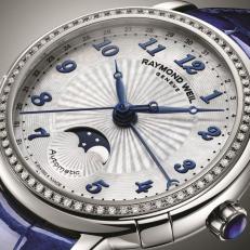 Часы Lady Maestro Phase de Lune от Raymond Weil для представительниц прекрасной половины планеты