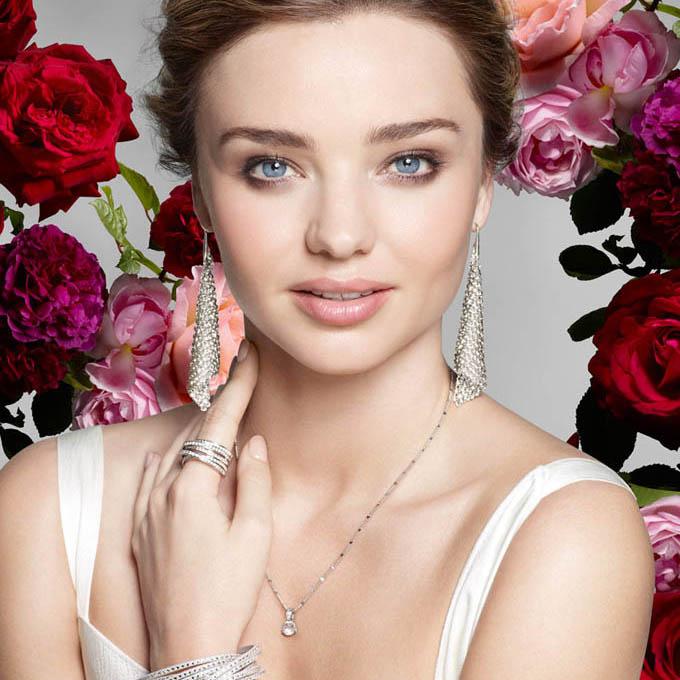 Миранда Керр – лицо новой рекламной кампании Swarovski