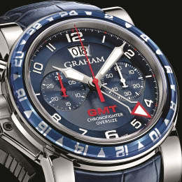 Chronofighter Oversize GMT Blue от Graham