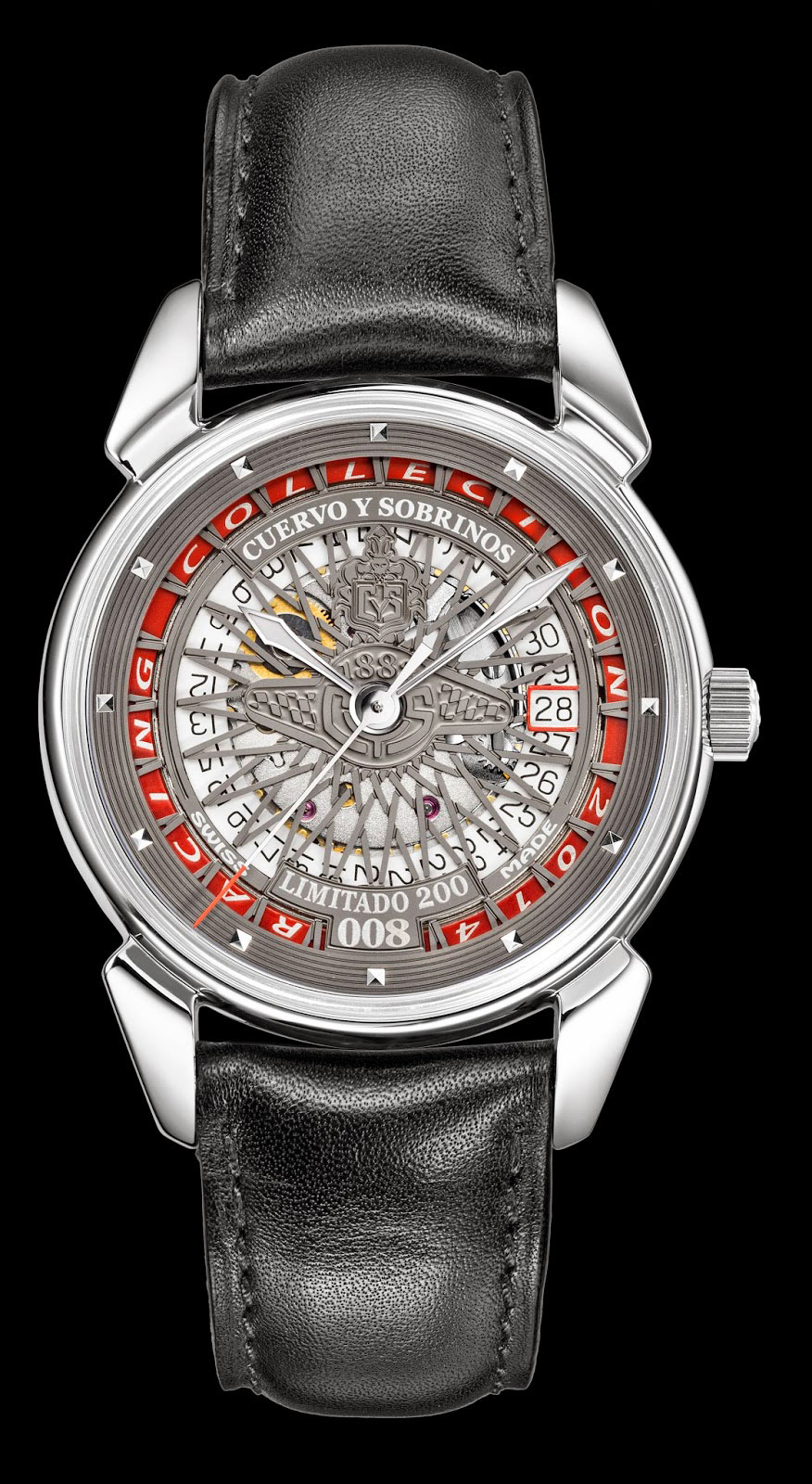 BaselWorld 2014: Historiador Racing от Cuervo y Sobrinos