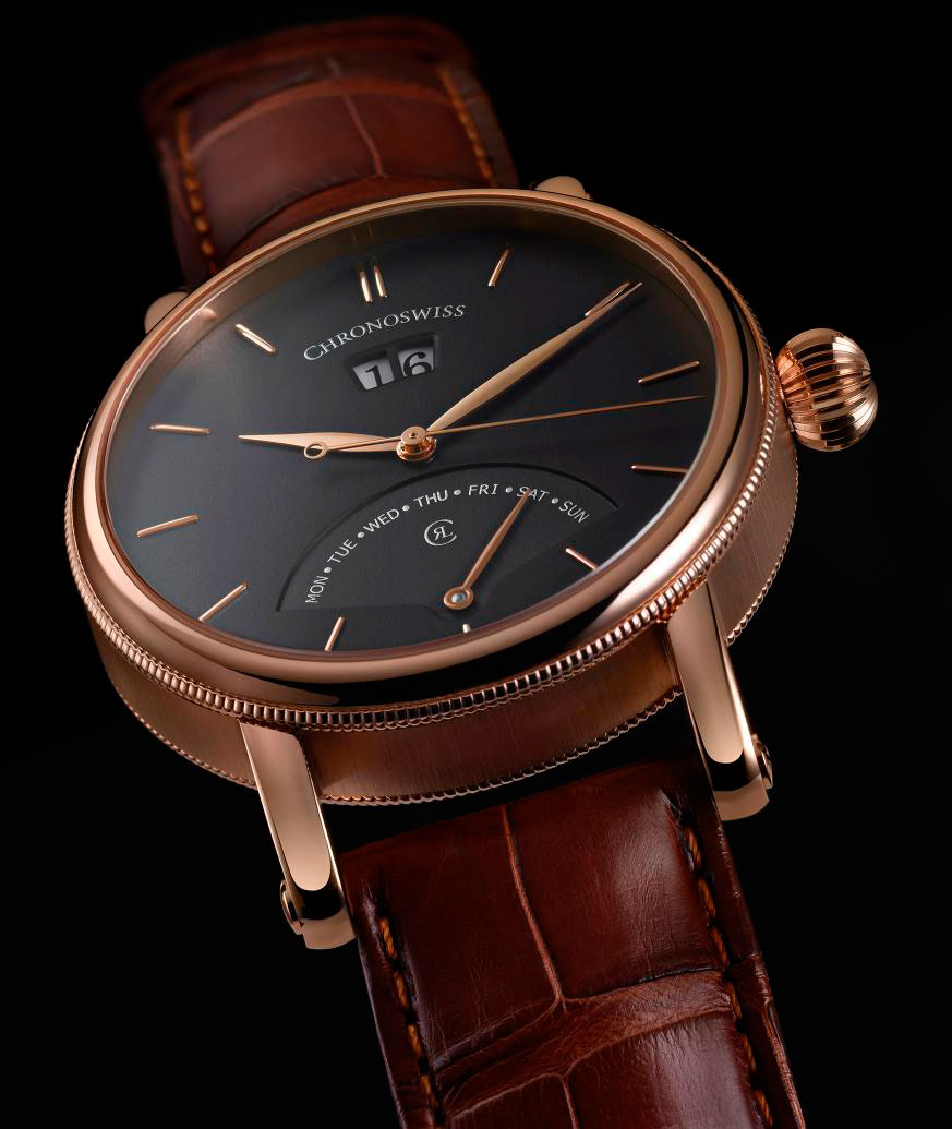 ������ ��������: Chronoswiss ���������� ������ ����� Sirius Retrograde Day