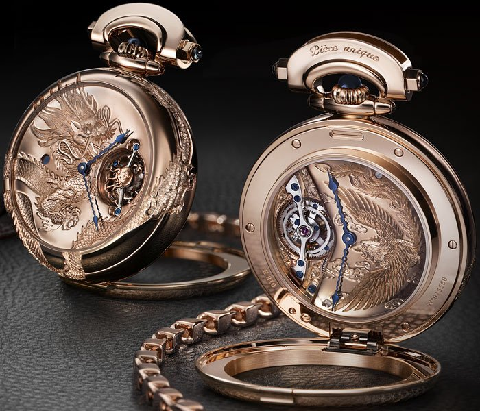 ���� 7-day Tourbillon with reversed hand-fitting Dragon & Phoenix
