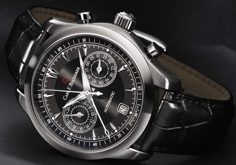 часы Manero CentralChrono от Carl F. Bucherer