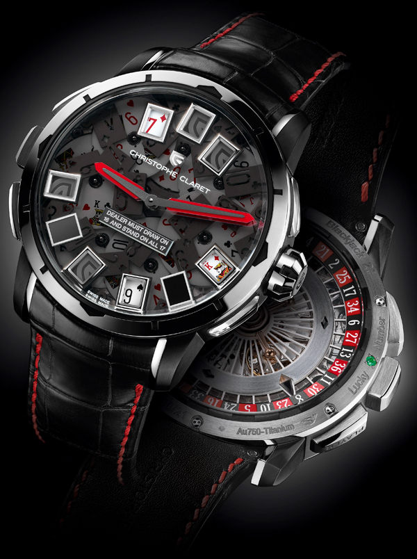 часы Christophe Claret Blackjack 21