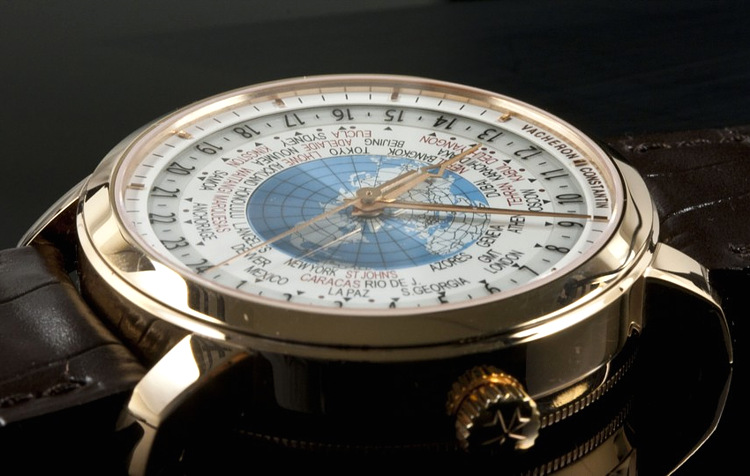 Часы Patrimony Traditionnelle World Time