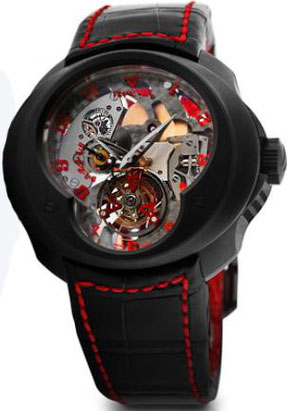 часы Tourbillon Planetaire Sceleton SuperLigero Concept