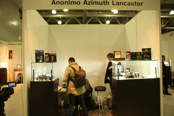 ����� ����� Anonimo, Azimuth  � Lancaster �� ������� �������� Moscow Watch Expo 2011