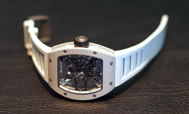 часы с турбийоном RM038
