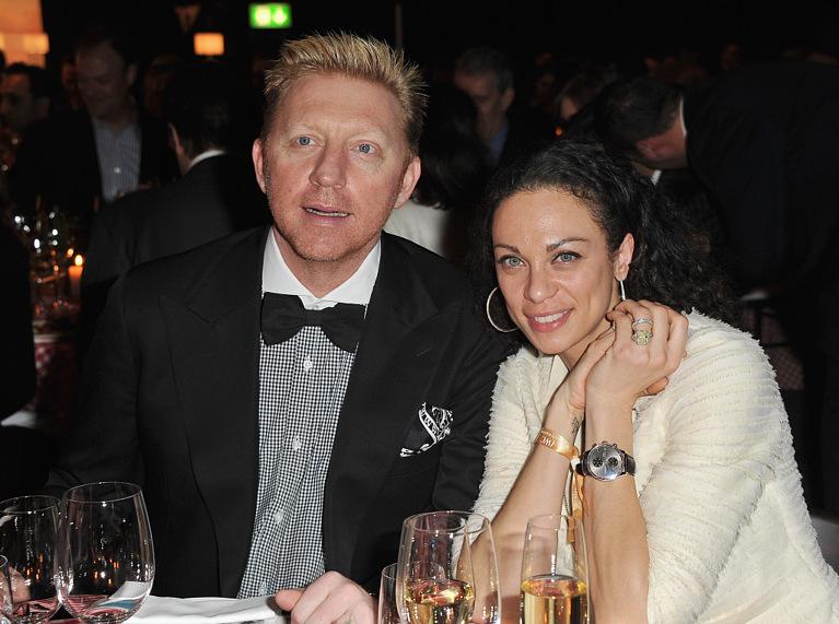 Борис Беккер и его жена Шарли, носящая часы Portuguese Chronograph