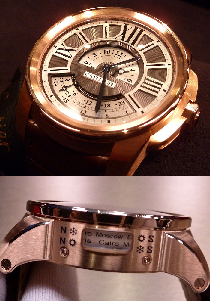 Часы Cartier Calibre de Cartier Multiple Time Zone