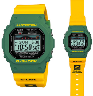 ���� G-Shock x Surfrider Founation Summer 2010