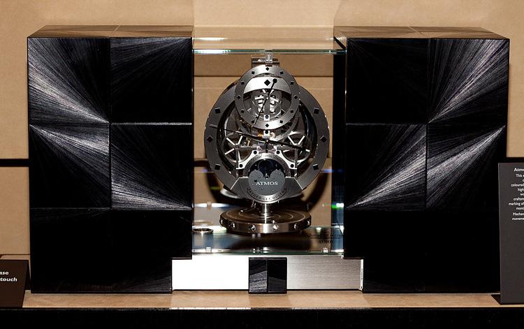 Настольные часы Atmos Marqueterie Paille