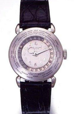 часы Patek Philippe Platinum World Time 1939 г.в.