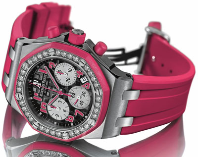 модель «Audemars Piguet – Ladyies' Royal Oak Offshore Ladycat Chronograph»