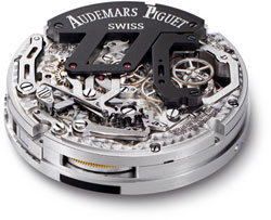 механизм часов «Audemars Piguet – Royal Oak Tourbillon Chrono»