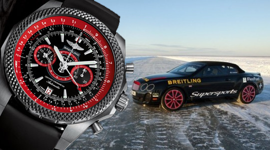 часы Breitling Bentley Supersports Light Body